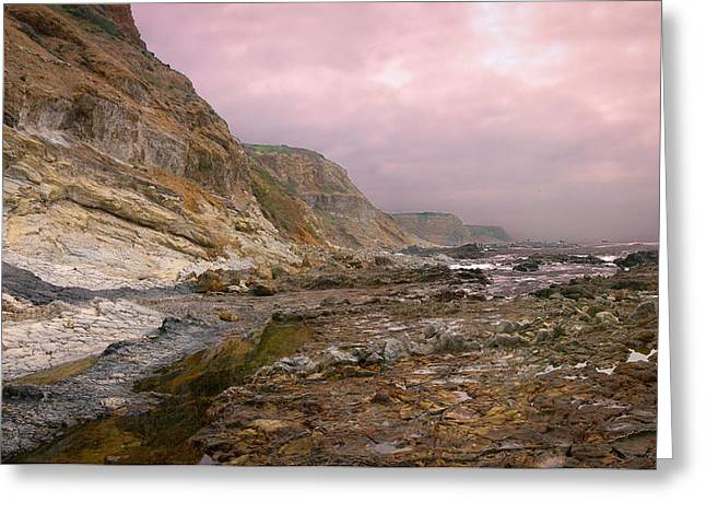 Pv Cliffs Greeting Card by Kevin Bergen