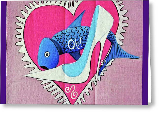 Devoted Fish Greeting Card
