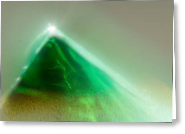 Greeting Card featuring the photograph Pyramid by Greg Collins
