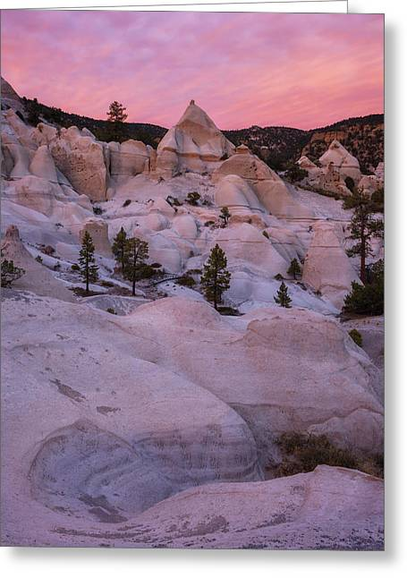 Pyramids  Greeting Card by Dustin LeFevre