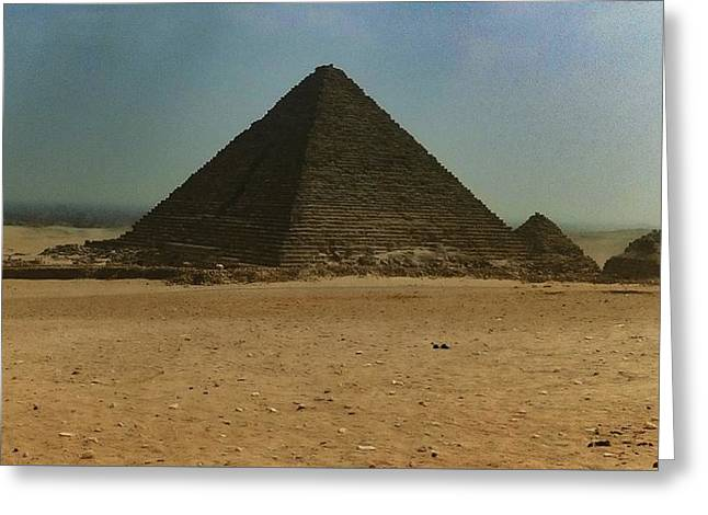 Pyramids Of Egypt Greeting Card