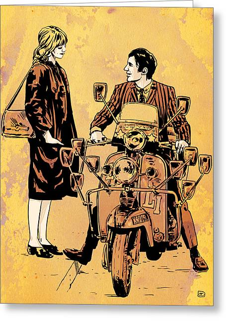 Phils Greeting Cards - Quadrophenia Greeting Card by Giuseppe Cristiano