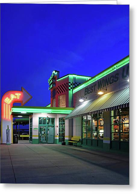 Quaker Steak And Lube Greeting Card by Christopher McKenzie