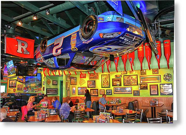 Quaker Steak And Lube Greeting Card by Mike Martin