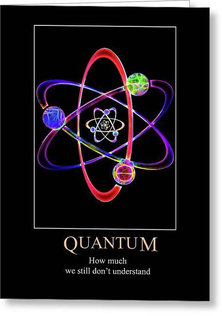 Quantum Confusion Greeting Card
