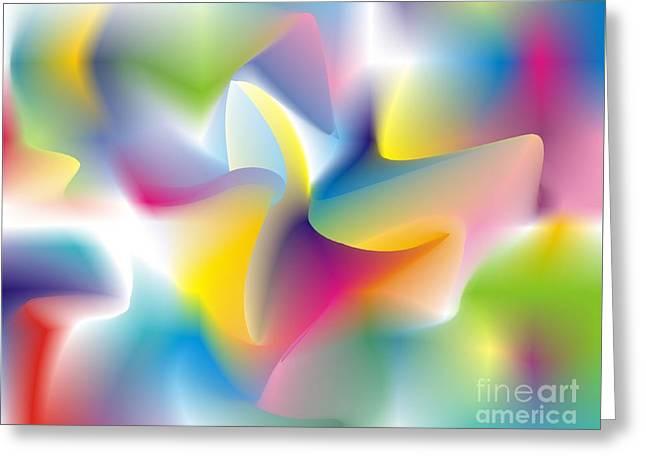 Quantum Landscape 4 Greeting Card
