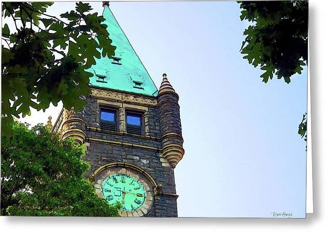 Haverford Greeting Cards - Quarter Pass Six Greeting Card by Russ Harris