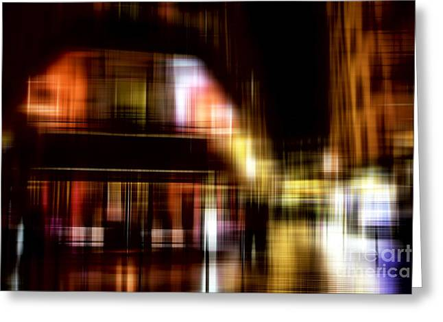 Quartier Latin Greeting Card by John Rizzuto