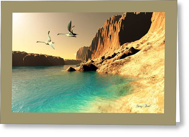 Quasimodo Seascape Greeting Card by Corey Ford