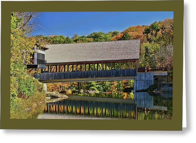 Quechee Covered Bridge # 2 Greeting Card