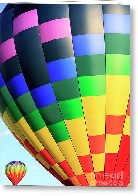 Quechee Vermont Hot Air Balloon Fest 2 Greeting Card