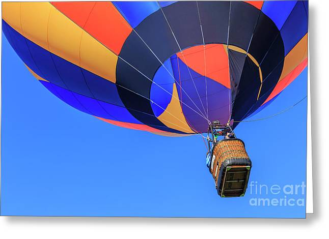 Quechee Vermont Hot Air Balloon Festival Greeting Card