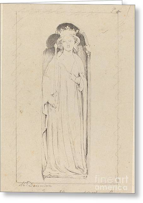 Queen Eleanor, From Waltham Cross Greeting Card