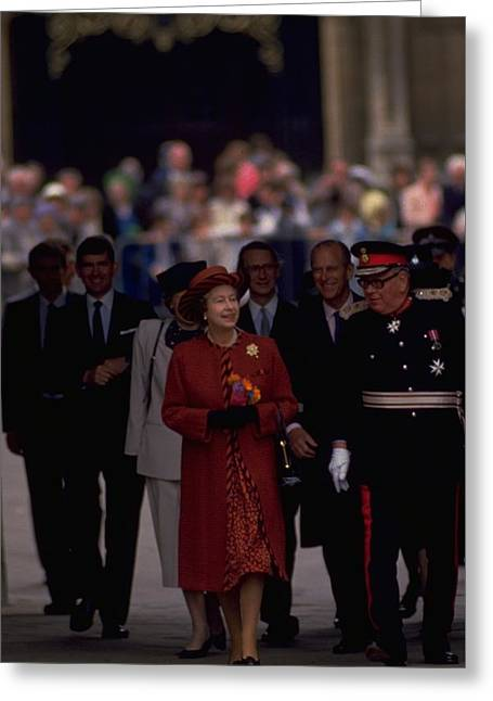 Photograph - Queen Elizabeth And Duke Of Edinburgh by Travel Pics