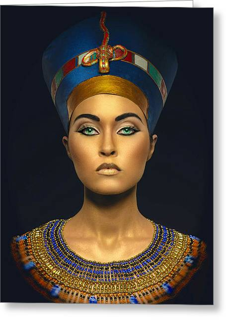 Queen Esther Greeting Card