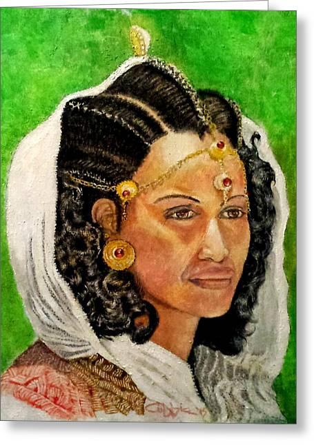 Queen Hephzibah  Greeting Card