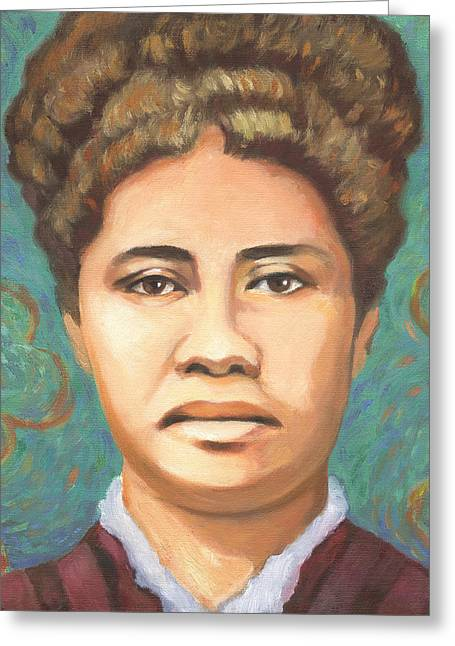 Queen Liliuokalani Greeting Card