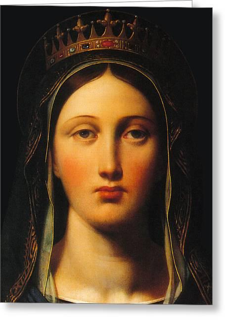 Queen Mary Greeting Card by Munir Alawi