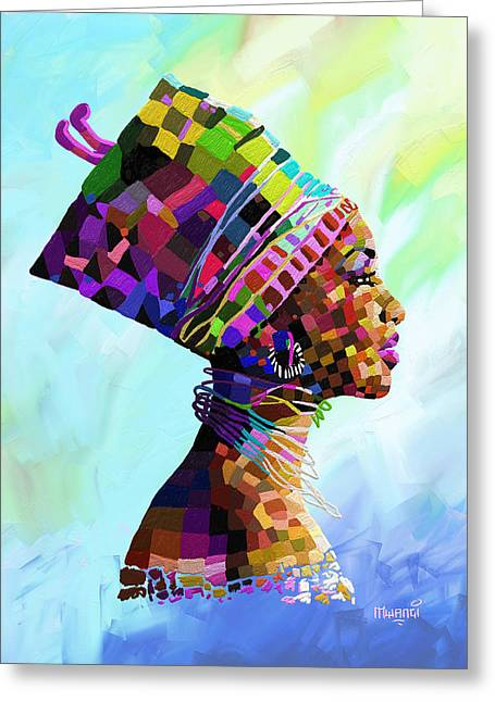 Queen Nefertiti Greeting Card