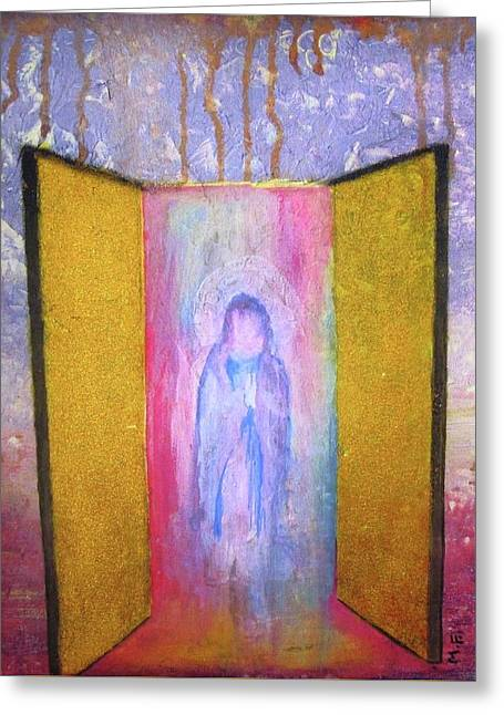 Queen Of Heaven Greeting Card