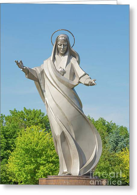 Queen Of Peace Greeting Card by Pamela Williams