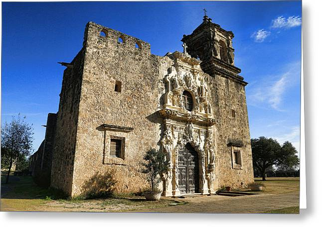 Queen Of The Missions - San Jose Greeting Card