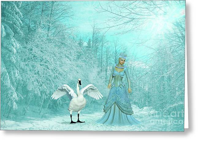 Queen Of The North Greeting Card