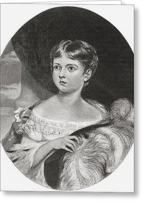 Queen Victoria, Aged 11, 1819 Greeting Card