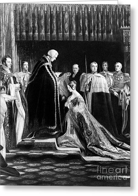 Queen Victoria, Coronation, 1838 Greeting Card