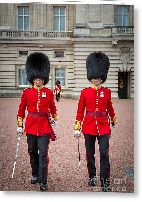 Queen's Guards Greeting Card