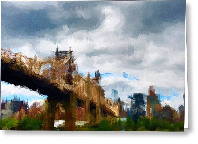 Queensborough Bridge Greeting Card