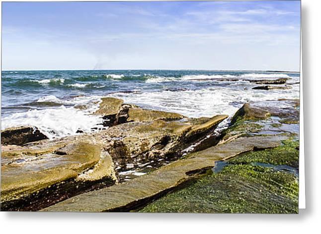 Queensland Beach Coastline Greeting Card by Jorgo Photography - Wall Art Gallery