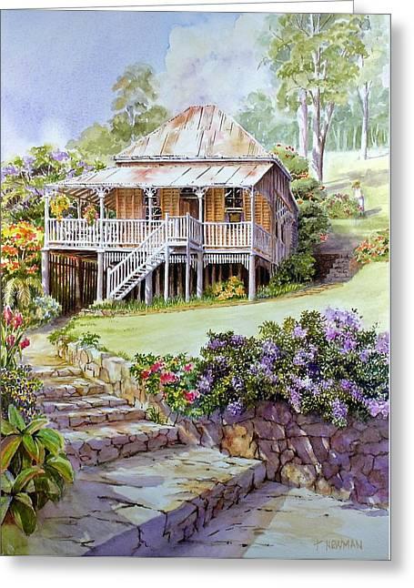 Queensland Garden Greeting Card