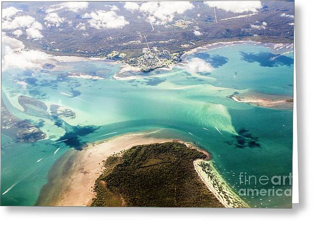 Queensland Island Bay Landscape Greeting Card by Jorgo Photography - Wall Art Gallery