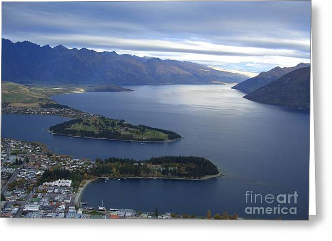 Queenstown  Greeting Card by Joyce Woodhouse
