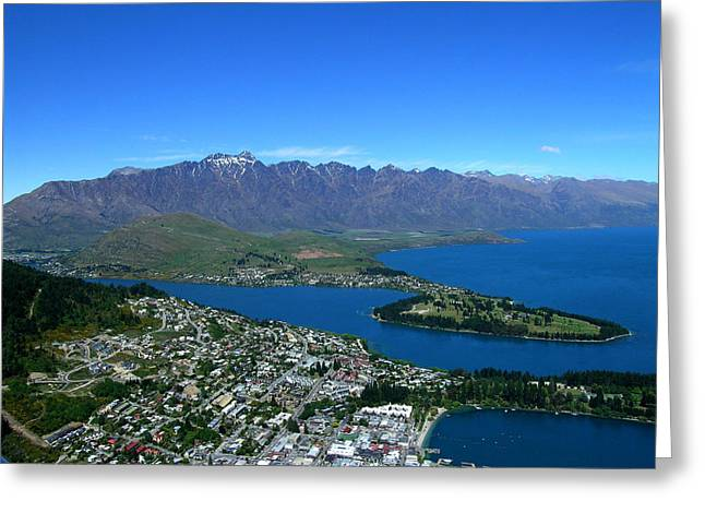 Queenstown New Zealand Greeting Card