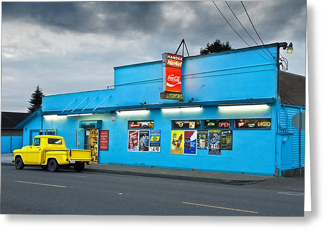 Greeting Card featuring the photograph Quick Stop by Jon Exley