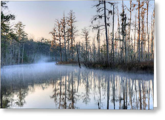 Cape Fear River Greeting Cards - Quiet 2 Greeting Card by JC Findley