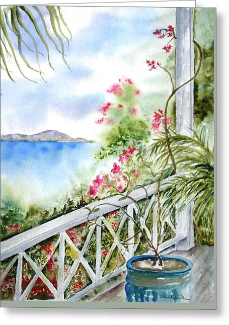 Quiet Corner Greeting Card