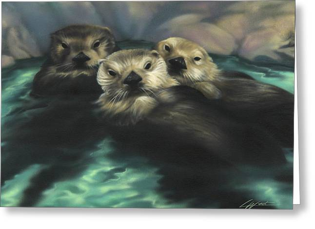 Quiet Cove Greeting Card