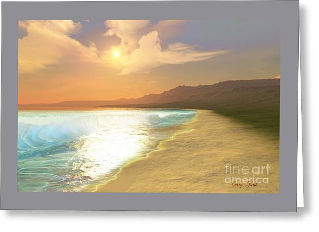 Quiet Places Greeting Card by Corey Ford