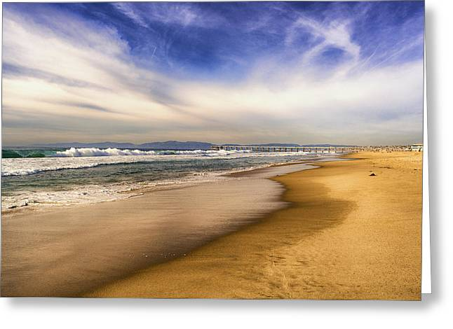 Quiet Reflections Of Hermosa Greeting Card