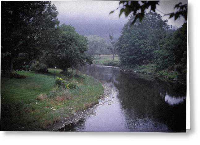 Quiet Stream- Woodstock, Vermont Greeting Card