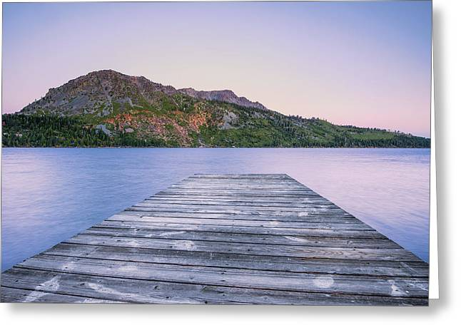 Quiet Time Greeting Card by Aron Kearney