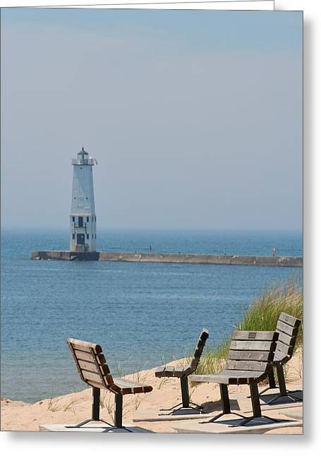 Quiet Time Greeting Card by Odd Jeppesen