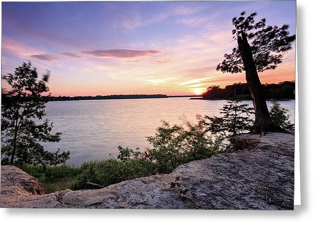 Greeting Card featuring the photograph Quiet Waters Crop by Jennifer Casey
