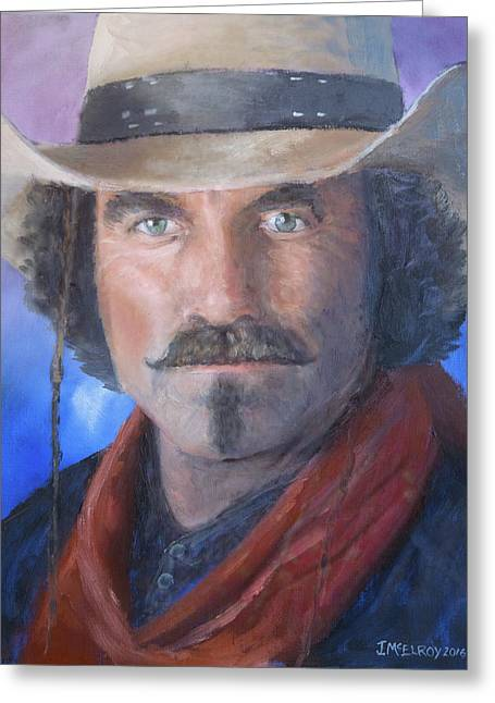 Quigley Down Under Greeting Card