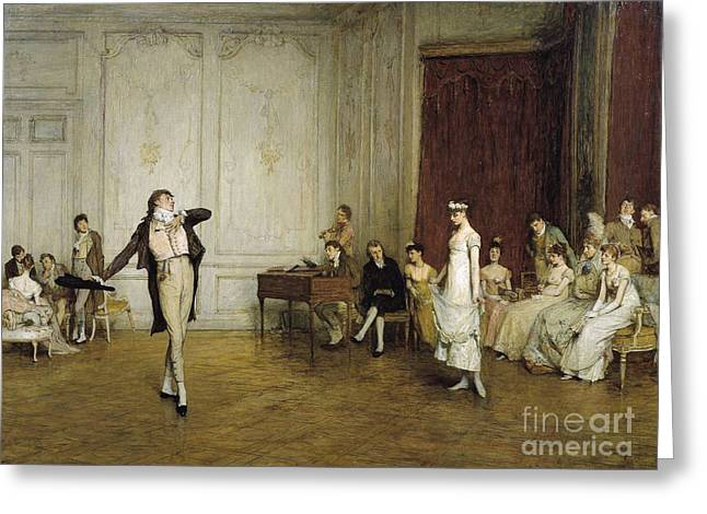 Quiller Orchardson Greeting Card