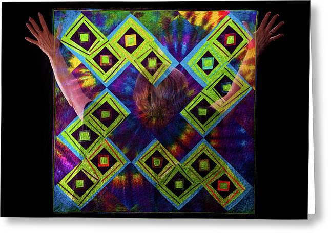 Quilt Spirit Greeting Card
