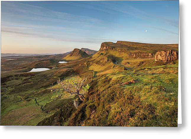 Quiraing Greeting Card by Davorin Mance